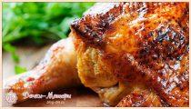 Курица в духовке целиком – 8 рецептов запеченной курочки с хрустящей корочкой
