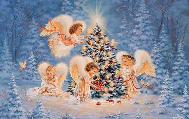 ангелы-на-открытке