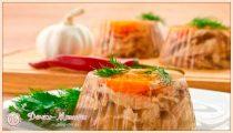 Холодец из курицы — рецепты с желатином и без него