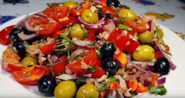 новогодний-салат