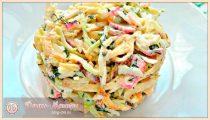 Салаты с блинами – простые и очень вкусные рецепты