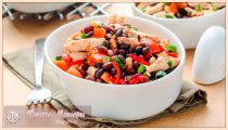 Салат с консервированной фасолью – 10 простых и очень вкусных рецептов