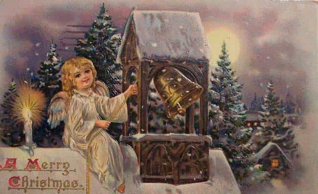 стариная-открытка-с-рождеством-христовымl