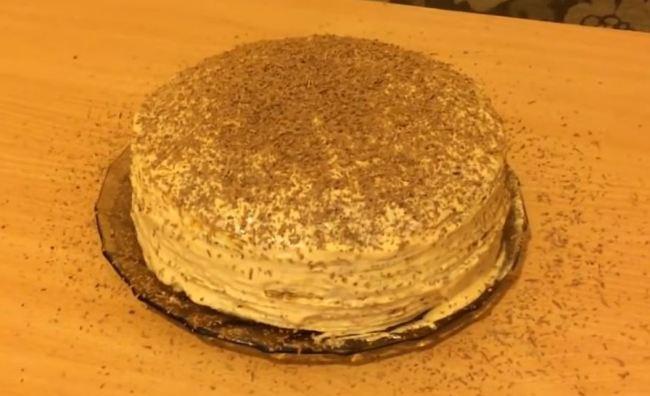 блинный-торт-со-сгущенкой