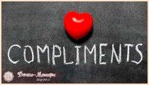 День комплиментов— прикольные открытки и поздравления в стихах