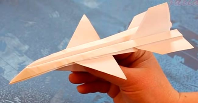 летающий-оригами-самолет