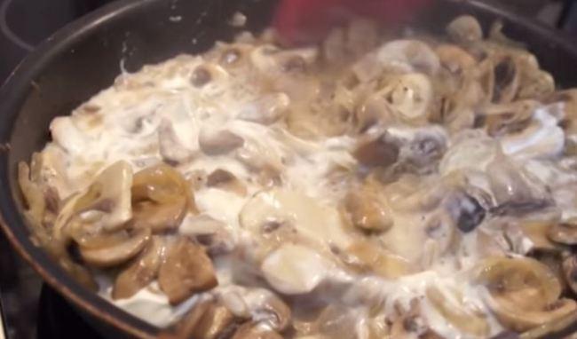 обжарить-грибы