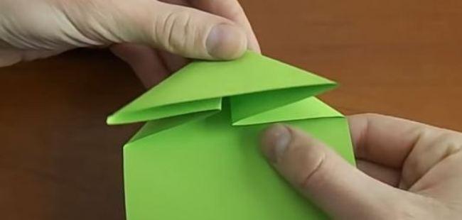 сгибаем-треугольник