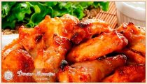 Куриные крылышки— 6 рецептов приготовления в духовке быстро и вкусно
