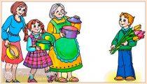 Стихи на 8 Марта для детей. Красивые и короткие стишки мамам и бабушкам для детского сада