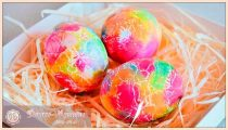 Как красить яйца салфетками – способы покраски яиц на Пасху 2020 в домашних условиях