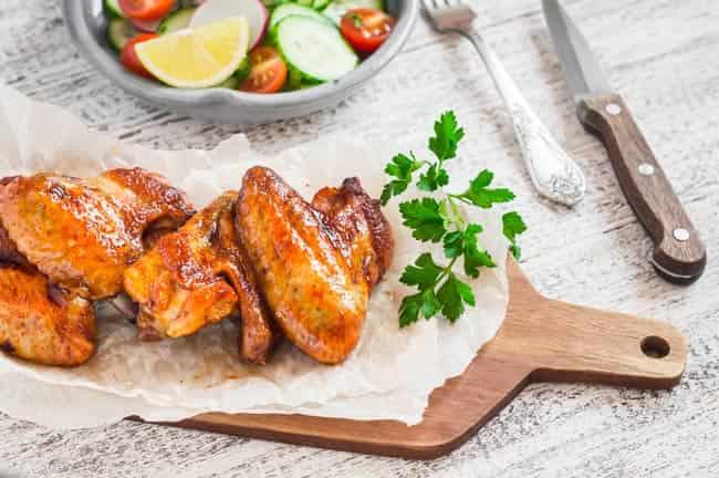 куриные-крылья-в-чесночном-соусе