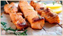 Шашлык из семги: 8 самых вкусных маринадов для шашлыка