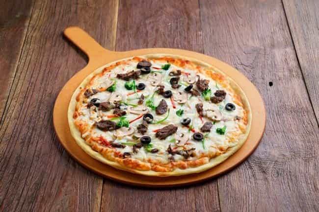 пицца-на-сковороде-на-майонезе