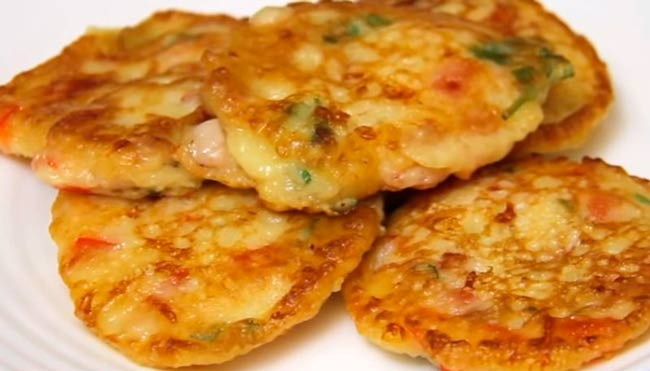 пицца-оладушки