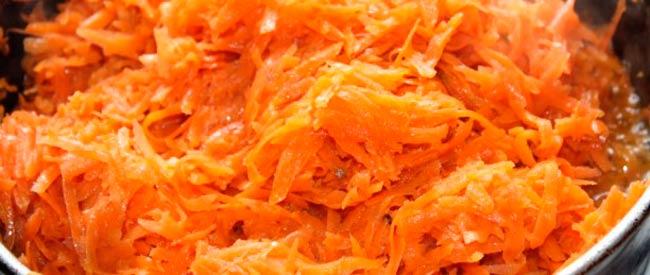 обжариваем-морковь
