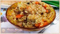 Плов из говядины в казане: как приготовить плов из говядины, чтобы рис был рассыпчатым