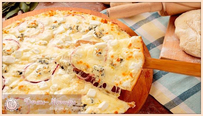 сырная-пицца