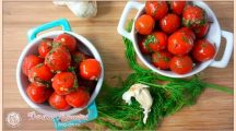 Малосольные помидоры быстрого приготовления в пакете и кастрюле