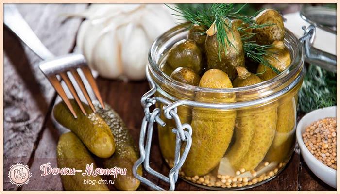 рецепт-огурцов-в-горчичных-зернах