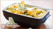 Запеканка из цветной капусты – самые вкусные рецепты в духовке