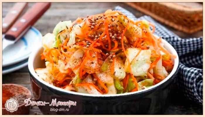 корейская-капуста-по-быстрым-рецептам