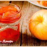прозрачное-яблочное-варенье-на-зиму