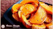 Тыква, запеченная в духовке кусочками: 4 рецепта приготовления