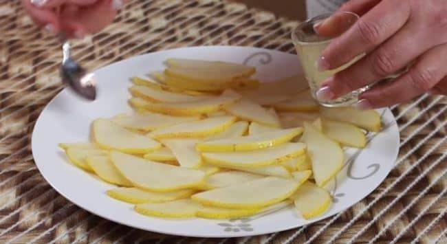 нарезать-грушу