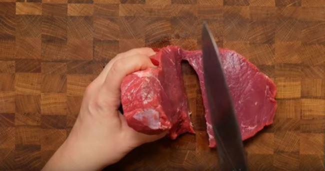 нарезать-мясо