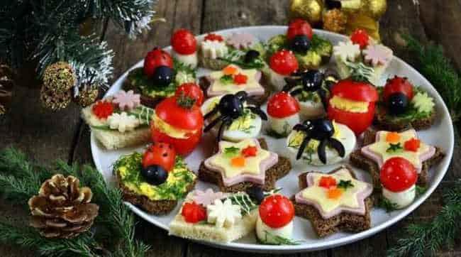 новогодние рецепты-закусок