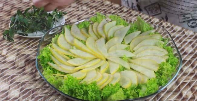 выложить-салат