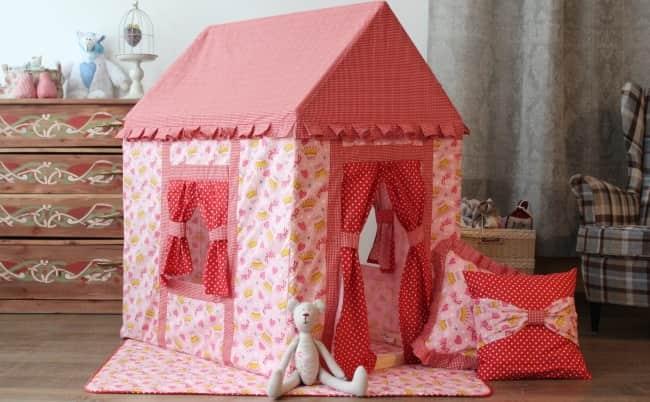домик-палатка
