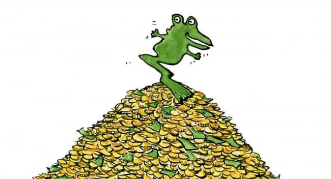 лягушка-и-доллары