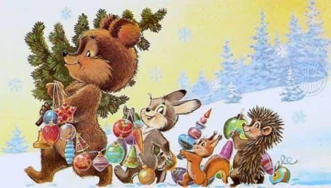 новогодний-лес-сценарий
