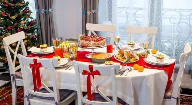новогодний-стол