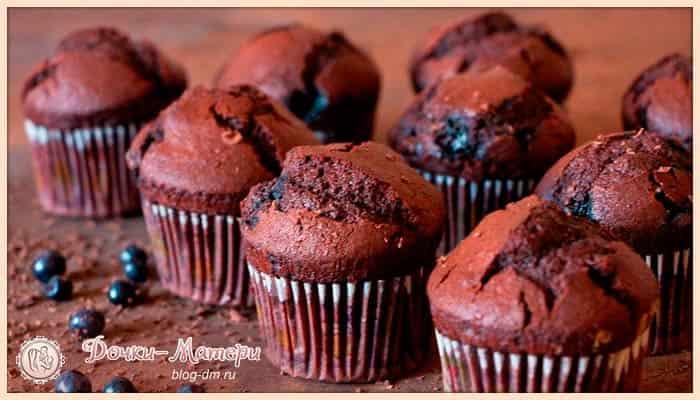 рецепт-шоколадных-маффинов