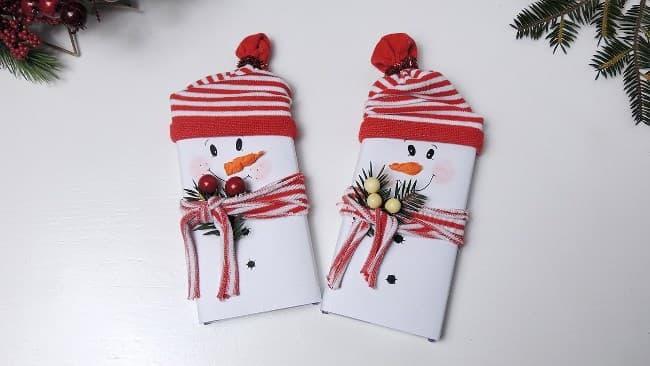 снеговик-из-шоколадки