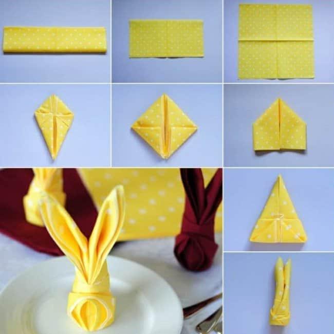 желтые-салфетки-сервировка