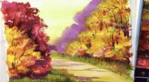 Как нарисовать пейзаж легко и быстро: ТОП 7 мастер-классов для начинающих