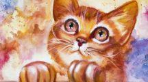 Как нарисовать кошку (кота) легко, красиво и быстро: Топ 20 лучших мастер-классов